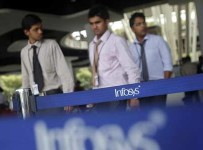 My first job, Infosys