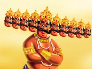 The sacrifice of Ravana..