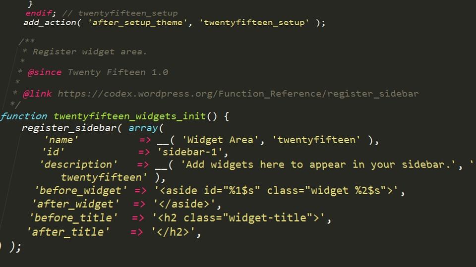 WordPress Custom Code